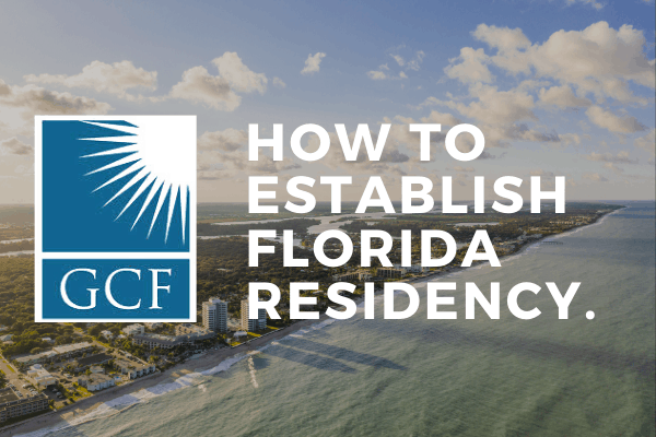 How to Establish Florida Residency